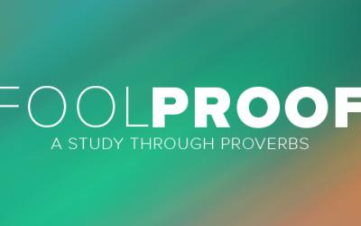 Proverbs: Week 2   Day 5